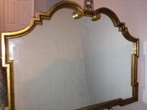 Vintage Labarge, Italian Made, Large Hollywood Regency Gold Mirror in Conroe, Texas