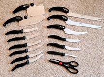 MIRACLE BLADE III CUTLERY KNIVES SET in Bolingbrook, Illinois