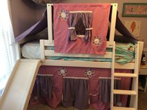Children's Princess loft bed in Fort Rucker, Alabama
