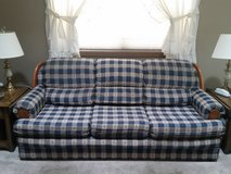 Couch, loveseat and matching chair in Westmont, Illinois