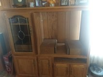 solid wood entertainment center in Alamogordo, New Mexico