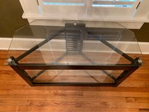 Glass TV Stand in Macon, Georgia