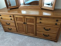 Solid wood dresser in Joliet, Illinois