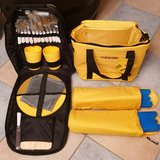Yellow Soft Cooler with Picnic Set in Wiesbaden, GE