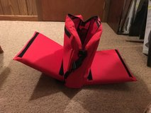 Sports bag & 2 cushions in Orland Park, Illinois