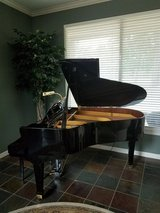Young Chang 175 Ebony Polish Grand Piano in Kingwood, Texas