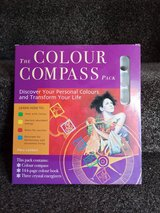 colour compass set in Lakenheath, UK