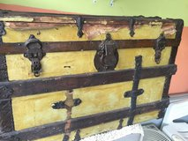 Old chest in Oswego, Illinois