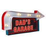 "Brand New lighted ""Dads Garage"" sign in Moody AFB, Georgia"