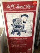 Sit N Stand stroller -never used in Bartlett, Illinois