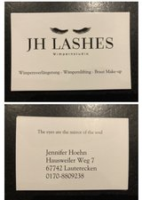 eyelash extensions lifting make up in Ramstein, Germany