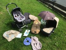 Bugaboo complete stroller and car seat set, lots of accessories in Wiesbaden, GE
