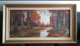 Vintage Oil Painting in Orland Park, Illinois
