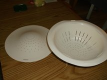 White large colander in Glendale Heights, Illinois