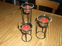Tea light candle stands in Naperville, Illinois