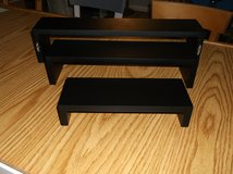 Black Floating Shelves (set of 3) in Naperville, Illinois