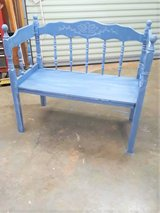 Bench hand made in Fort Campbell, Kentucky
