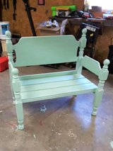 Bench-custom made in Fort Campbell, Kentucky