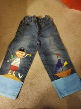 OOAK Custom Painted Jeans in Fort Campbell, Kentucky