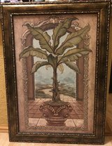 Large Janet Kruskamp: Palm Tree Picture in Shorewood, Illinois