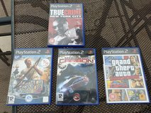 Playstation 2 games in Lakenheath, UK