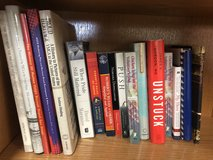 Assortment of books in Camp Pendleton, California