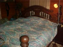 King-Size cannonball bed in Moody AFB, Georgia