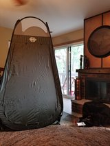 Pop Up Privacy Tent with Shower in Elgin, Illinois