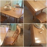 4 chair dining table in Fort Rucker, Alabama