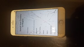 Iphone 6Plus Gold, AT&T,  Model A1784, 32GB RAM **Cracked Screen**, Otherwise Working in Houston, Texas