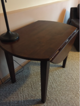 Drop Leaf Table-Double sided-Cherry in Tinley Park, Illinois