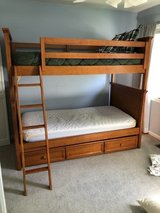 Bunk bed with trundle in Palatine, Illinois