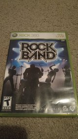 Lot of 4 Rock Band Xbox 360 Games in Beaufort, South Carolina