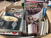 box of 100+cookbooks and magazines in Ramstein, Germany