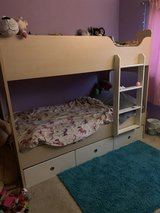 Twin bunk bed with mattresses in Travis AFB, California