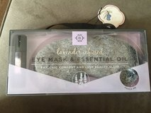 Lavender infused eye mask & essential oil in Oswego, Illinois