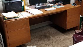 "2 Desks (71""w x 29""h x 36""d) and 2 Credenza's (71""w x 29""h x 19.5""d) in Joliet, Illinois"
