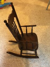 Childs rocking chair in Shorewood, Illinois