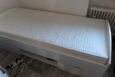 Single bed with mattress in Ramstein, Germany