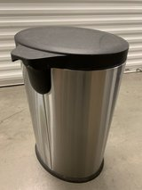 40L Stainless Steel Trash Can in San Diego, California