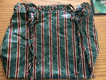 Longaberger Striped Small Gathering Basket Liner in Naperville, Illinois