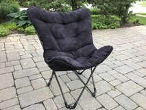 Padded butterfly chair in Glendale Heights, Illinois
