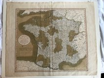 (( MAP ))  -- 1806 -- A New Map of France !! in Fort Bragg, North Carolina