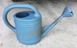Blue Plastic Water Can in Bolingbrook, Illinois