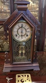 Antique Ansonia Gingerbread Mantel Clock in Okinawa, Japan