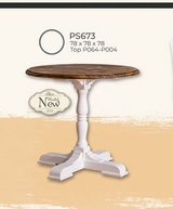 United Furniture - Small table - round or square with 4 chairs including delivery in Grafenwoehr, GE