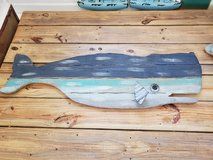 Wooden wall art in Camp Lejeune, North Carolina