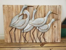 3D wooden metal bird art in Camp Lejeune, North Carolina