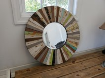 Wooden mirror in Camp Lejeune, North Carolina