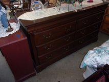 Two Piece Ashley Dresser and Chest of Drawers in Fort Riley, Kansas